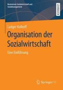 Ludger Kolhoff: Organisation der Sozialwirtschaft, Buch