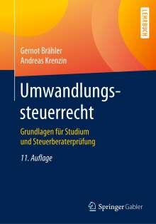 Gernot Brähler: Umwandlungssteuerrecht, Buch