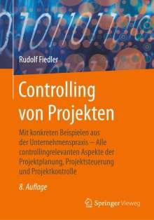 Rudolf Fiedler: Controlling von Projekten, Buch