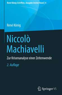 René König: Niccolò Machiavelli, Buch