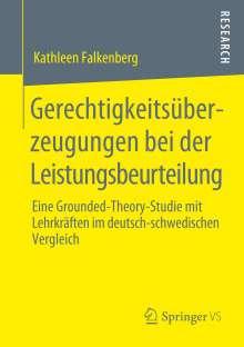 Kathleen Falkenberg: Gerechtigkeitsüberzeugungen bei der Leistungsbeurteilung, Buch