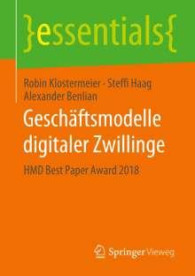 Robin Klostermeier: Geschäftsmodelle digitaler Zwillinge, Buch
