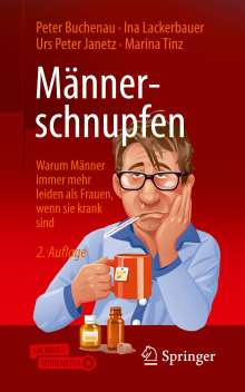 Peter Buchenau: Männerschnupfen, Buch