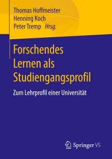Forschendes Lernen als Studiengangsprofil, Buch