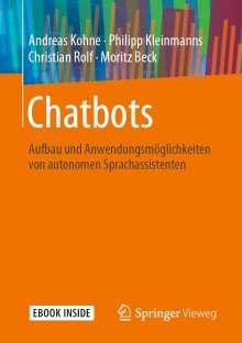 Andreas Kohne: Chatbots, 1 Buch und 1 eBook