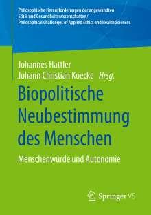 Biopolitische Neubestimmung des Menschen, Buch