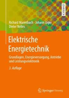 Richard Marenbach: Elektrische Energietechnik, Buch