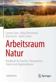 Carsten Gans: Arbeitsraum Natur, Buch