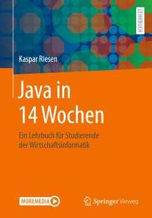 Kaspar Riesen: Java in 14 Wochen, Buch