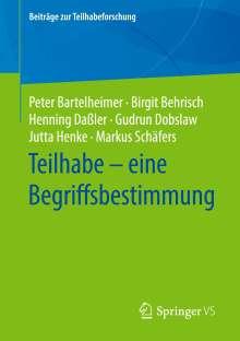 Peter Bartelheimer: Teilhabe - eine Begriffsbestimmung, Buch