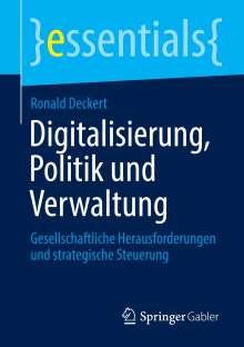 Ronald Deckert: Digitalisierung, Politik und Verwaltung, Buch
