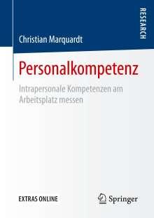 Christian Marquardt: Personalkompetenz, Buch