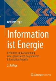 Lienhard Pagel: Information ist Energie, Buch