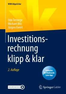 Udo Terstege: Investitionsrechnung klipp & klar, 1 Buch und 1 eBook
