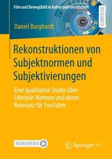 Daniel Burghardt: Rekonstruktionen von Subjektnormen und Subjektivierungen, Buch