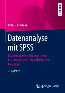 Peter P. Eckstein: Datenanalyse mit SPSS, Buch