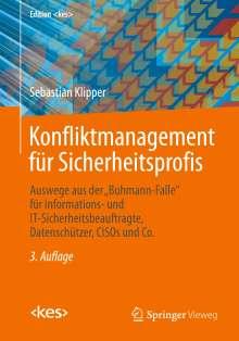 Sebastian Klipper: Konfliktmanagement für Sicherheitsprofis, Buch