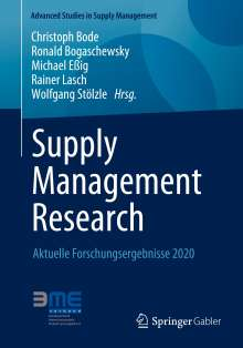 Supply Management Research, Buch