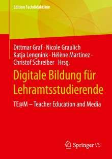 Digitale Bildung für Lehramtsstudierende, Buch