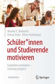 Monika Elisabeth Badewitz: Schüler*innen und Studierende motivieren, Buch