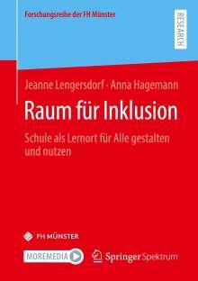 Anna Hagemann: Raum für Inklusion, Buch