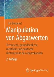 Kai Borgeest: Manipulation von Abgaswerten, Buch