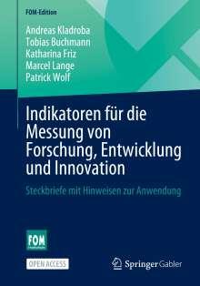 Andreas Kladroba: Indikatoren für die Messung von Forschung, Entwicklung und Innovation, Buch