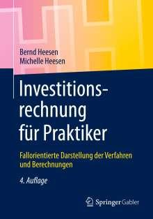 Bernd Heesen: Investitionsrechnung für Praktiker, Buch
