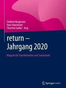 return - Jahrgang 2020, Buch