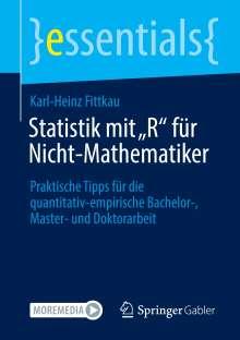 """Karl-Heinz Fittkau: Statistik mit """"R"""" für Nicht-Mathematiker, Buch"""