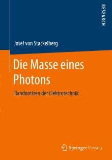 Josef von Stackelberg: Die Masse eines Photons, Buch
