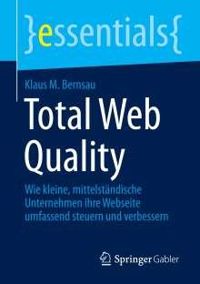 Klaus M. Bernsau: Total Web Quality, Buch