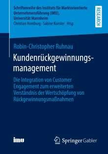 Robin-Christopher Ruhnau: Kundenrückgewinnungsmanagement, Buch
