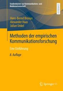 Hans-Bernd Brosius: Methoden der empirischen Kommunikationsforschung, Buch