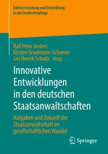 Innovative Entwicklungen in den deutschen Staatsanwaltschaften, Buch