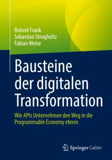 Roland Frank: Bausteine der digitalen Transformation, Buch