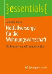 Mario H. Kraus: Notfallvorsorge für die Wohnungswirtschaft, Buch