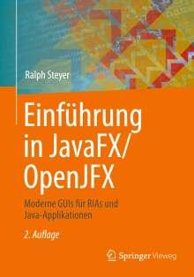 Ralph Steyer: Einführung in JavaFX/OpenJFX, Buch