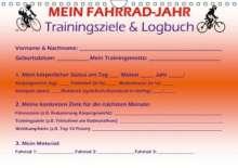 Maximilian Buckstern: Mein Fahrrad-Jahr: Trainingsziele & Logbuch - Power Year Edition (Wandkalender 2014 DIN A4 quer), Diverse