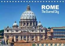 Melanie Viola: ROME The Eternal City (US - Version) (Table Calendar 2014 DIN A5 Landscape), Kalender
