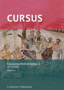 Michael Hotz: Cursus A Neu Klassenarbeitstrainer 3, Buch