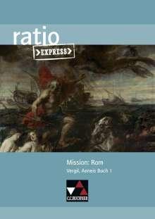 Michael Lobe: Mission: Rom, Buch