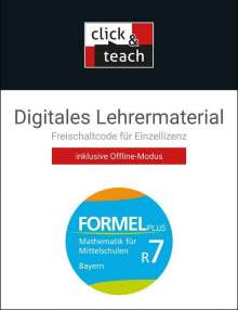 Jan Brucker: Formel PLUS R7 click & teach Box Bayern, Diverse