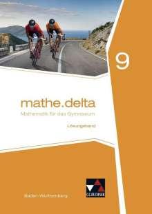 Andreas Hamm-Reinöhl: mathe.delta 9 Lehrerband Baden-Württemberg, Buch