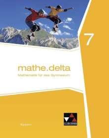 Dieter Bergmann: mathe.delta Bayern 7, Buch