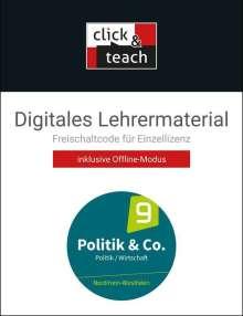 Eva Dieckmann: Politik & Co. NRW - neu click & teach 9 Box, Diverse