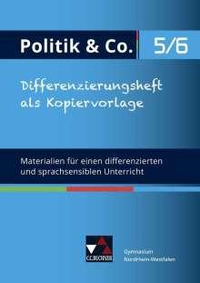 Eva Dieckmann: Politik & Co. 5/6 neu (2018) Differenzierungsheft Nordrhein-Westfalen, Buch