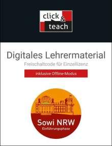 Johannes Baumann: Sowi NRW click & teach E-Phase Box - neu, Diverse