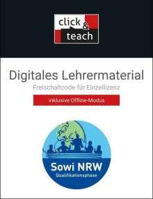 Johannes Baumann: Sowi NRW click & teach Q-Phase Box - neu, Diverse