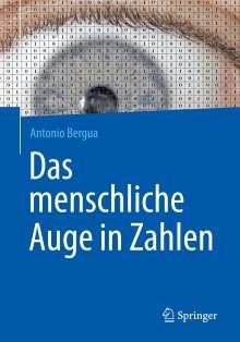 Antonio Bergua: Das menschliche Auge in Zahlen, Buch